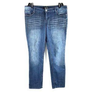 L.E.I. | Ashley Trouble Skinny Faded Jeans